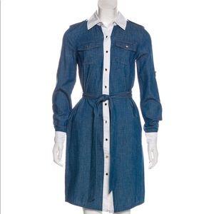TORY BURCH Denim Dress Size 0